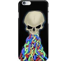 skull vomit iPhone Case/Skin