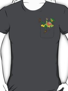 Lucky Leprechaun In My Pocket T-Shirt