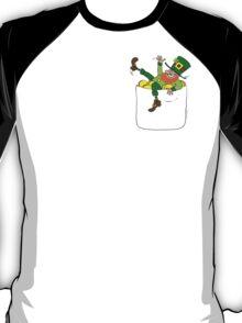 Lucky Leprechaun In My Pocket T-Shirt