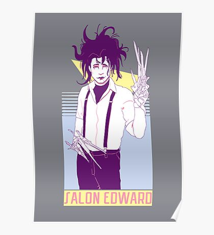 Salon Edward Poster