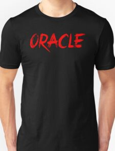 Oracle Text Red T-Shirt