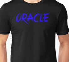 Oracle Text Blue Unisex T-Shirt