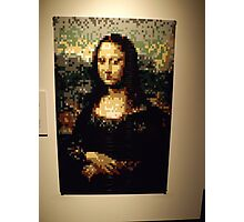 Lego, Mona Lisa, Art of the Brick Exhibition, Nathan Sawaya, Artist, Discovery Times Square, New York City   Photographic Print