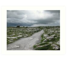 The Dolmen In The Burren Art Print