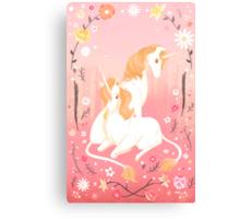 Unicorn Paradise Canvas Print