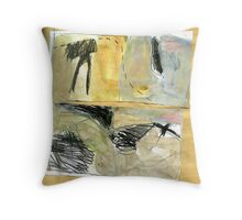 debris in creek 1 Throw Pillow