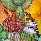 Desert Garden by Lynnette Shelley