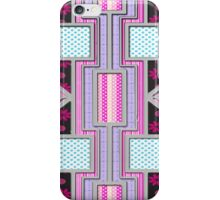 Valentine Heart patchwork gifts iPhone Case/Skin