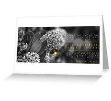Fyodor's Bumble Greeting Card