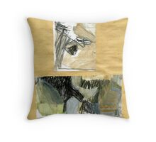 debris in creek 2 Throw Pillow
