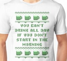 You Can't Drink All Day St Patricks Day T-Shirt Unisex T-Shirt