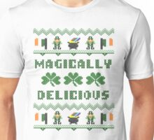 Magically Delicious St Patricks Day Ugly Sweater Unisex T-Shirt
