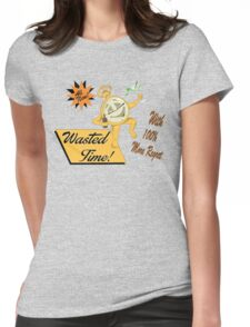 Wasted Time Womens Fitted T-Shirt