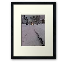 Harrison Path Framed Print
