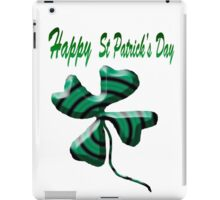 Happy st patrick's day  iPad Case/Skin