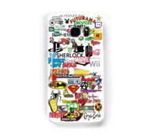 Nerdy Sticker Bomb Phone Case Samsung Galaxy Case/Skin