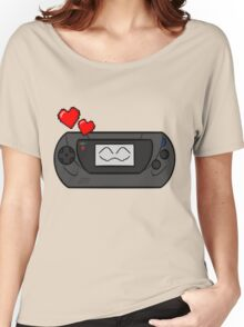 SEGA GAME HAPPY GEAR Women's Relaxed Fit T-Shirt