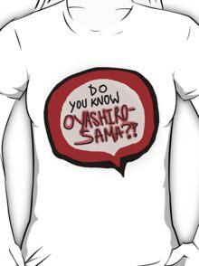 Uwasa Jikenbo ABC T-Shirt