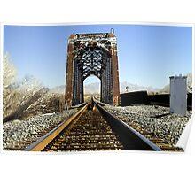 31 Old Railroad Trellis Poster