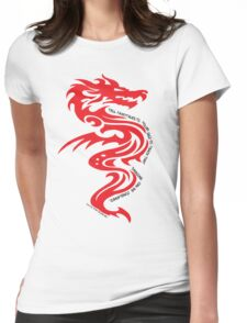Dragon Fairytales Womens Fitted T-Shirt