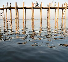 u bein bridge by Anne Scantlebury