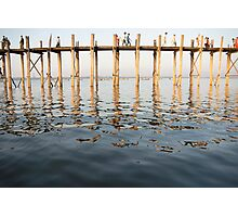 u bein bridge Photographic Print