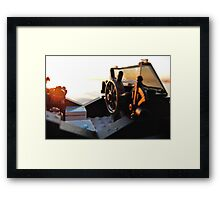 Time for some pirate yachting Framed Print