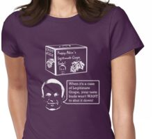 Pappy Akin's Legitimate Grape Soda Womens Fitted T-Shirt