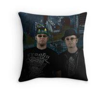 4817 Rap Crew Throw Pillow
