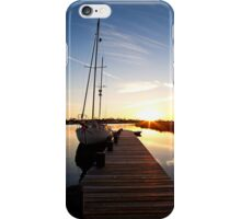 Sailboat Pier iPhone Case/Skin