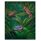 """ Poison  Frogs "" by owen  pointon"