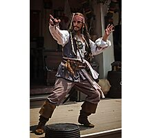 Adventures of Capt. Jack Photographic Print