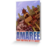 Amaree Location Postcard Greeting Card