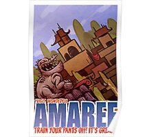 Amaree Location Postcard Poster