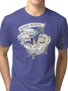 beer potato Tri-blend T-Shirt