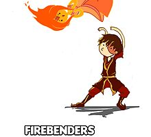 Fire Benders can Bend hot People (with text) by bober