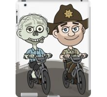 Walker and Rick iPad Case/Skin