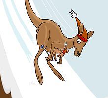 Kangaroo Ski Jump by Thingsesque