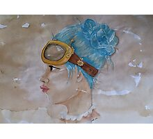 Tea Stained Steampunk Photographic Print