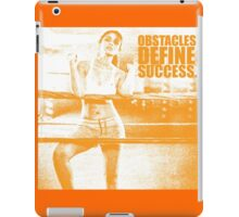 Obstacles Define Success. - Parineeti-Chopra - Gym Inspirational Quotes iPad Case/Skin