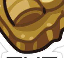 Consult The Almighty Helix Fossil Sticker