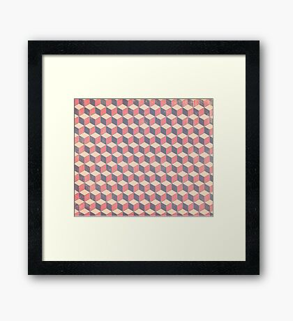 Boxes n' Boxes Framed Print