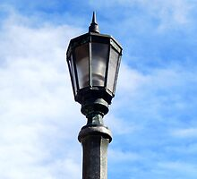 LAMP POST by Sandra  Aguirre