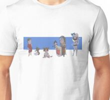 Cats, Cars, Fantasy and Football Unisex T-Shirt
