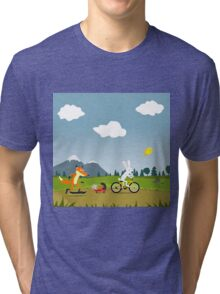 Happy Riders Tri-blend T-Shirt