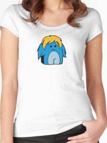 DigiDoodles: Fluffer Women's Fitted Scoop T-Shirt