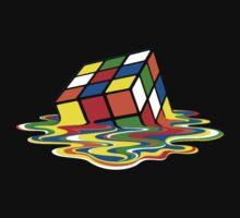 Rubik's Cube Meltdown by tshirtsfunny