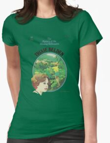 Trixie Belden Book Cover Womens Fitted T-Shirt