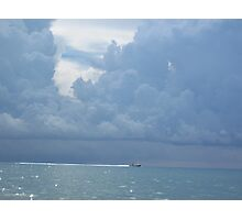 Stormy Florida Sky Photographic Print