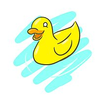 Ducky Photographic Print